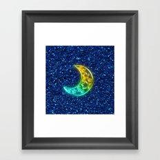 Moon Night Framed Art Print