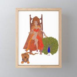 Greed - seven deadly sins Framed Mini Art Print