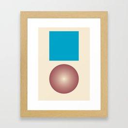 Gradient V2 Framed Art Print