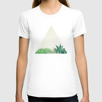 succulent T-shirts featuring Succulent Forest by Cassia Beck