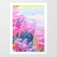 aloha Art Prints featuring Aloha by Tyler Spangler