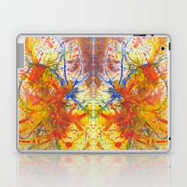 Branches Aflame with Flower Laptop & iPad Skin