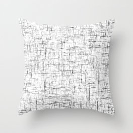 Ambient 77 in B&W 1 Throw Pillow