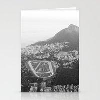 rio de janeiro Stationery Cards featuring Rio de Janeiro, Brasil by Angelika Albaladejo