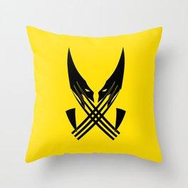 Wolferin Throw Pillow