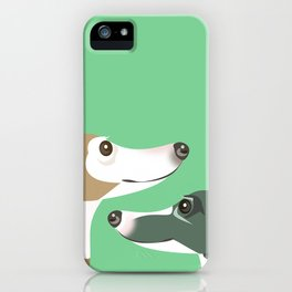 Greyhounds iPhone Case