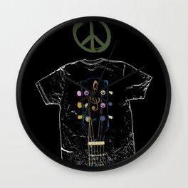Rockin' In The Free World - Love - Peace - Music - Blues,Rock,Metal,Jazz Wall Clock