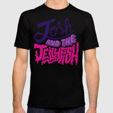 Josh and the Jellyfish Mens Fitted Tee Black MEDIUM