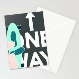 ONE WAY Stationery Cards