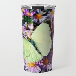 Cabbage butterfly Travel Mug