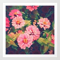 Pink Was Her Favorite Art Print