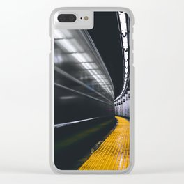 The Subway (Color) Clear iPhone Case