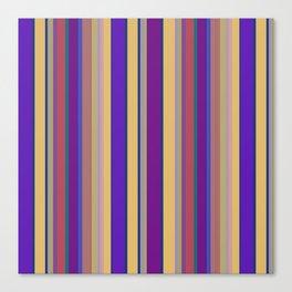 awning stripe Canvas Print
