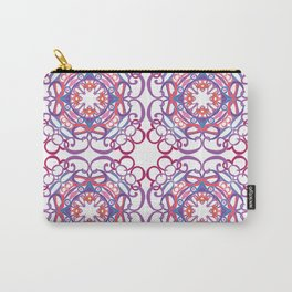 Gender Equality Tiled - Raspberry Purple Carry-All Pouch