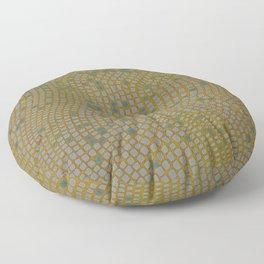 Mosaic -craftsman style Floor Pillow