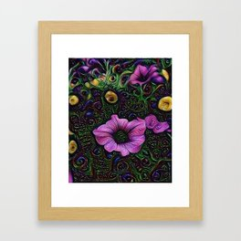 :: Menagerie :: Framed Art Print