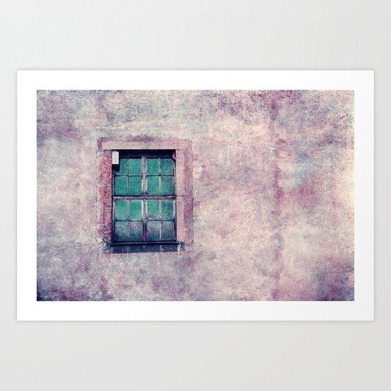 the window Art Print