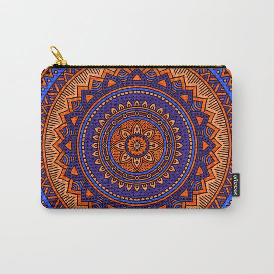 Hippie mandala 41 Carry-All Pouch