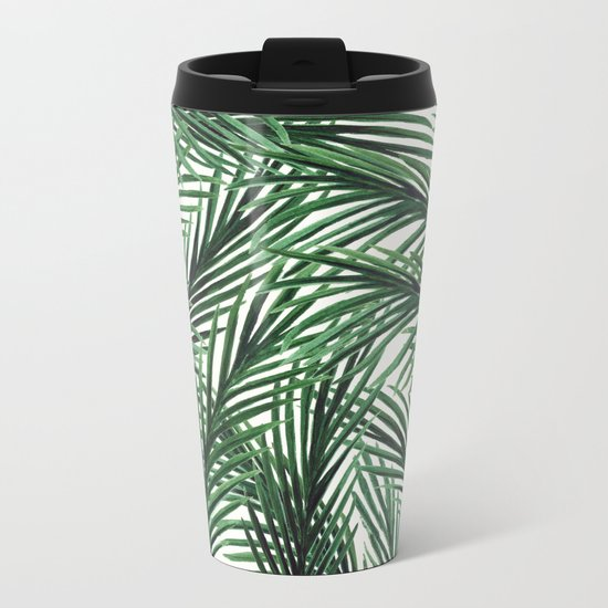 Tropical Metal Travel Mug