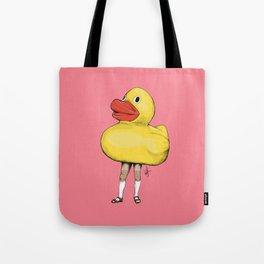 Yellow Duck / Canard Jaune Tote Bag