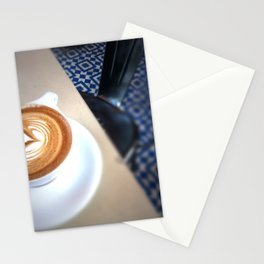 Blue Caffeine  Stationery Cards