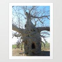 Prison Tree Art Print
