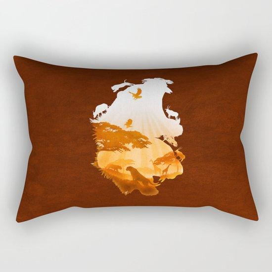 Tigers Realm Rectangular Pillow