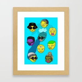 Future Crew Framed Art Print