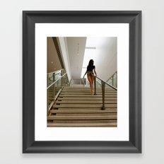 Steps Framed Art Print