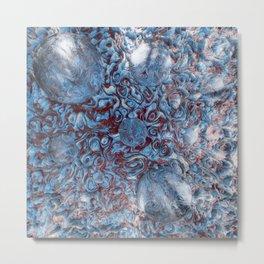 Ice & Blood Metal Print