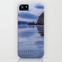 Daybreak at Haystack Rock iPhone Case