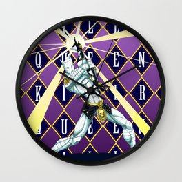 JoJo's Bizarre Adventure - Killer Queen Wall Clock