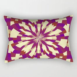 Raster kaleidoscope n° 5 Rectangular Pillow