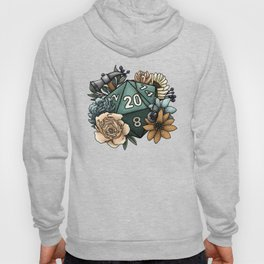 Cleric Class D20 - Tabletop Gaming Dice Hoody