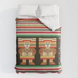 Nick's Blanket 1968 Version 2 (With Figures) Comforters