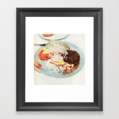 Toothpick Framed Art Print