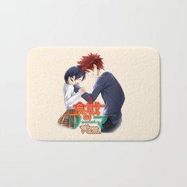 yukihira with tadokoro amazing1 Bath Mat