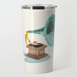 Lo-Fi goes 3D - Vintage Phonograph Travel Mug