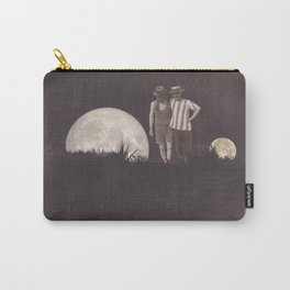 Moon on a meadow vintage 1920s Carry-All Pouch