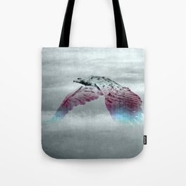 Flying Eagle, Evolving Energy Tote Bag