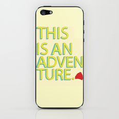 This Is An Adventure iPhone & iPod Skin