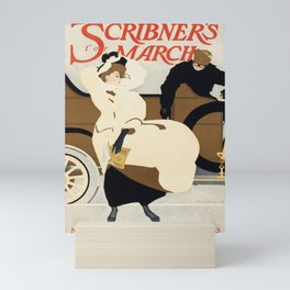 posters scribners for march. 1907 Mini Art Print