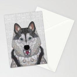 Happy Husky Stationery Cards