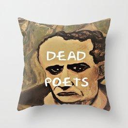 Baudelaire, Dead Poets Art Throw Pillow