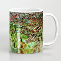plant Mugs featuring plant by ebdesign