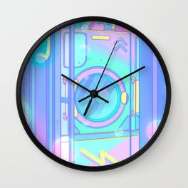 Laundry Night Wall Clock