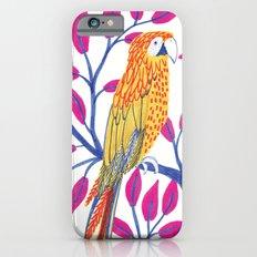 Yellow Parrots Slim Case iPhone 6s