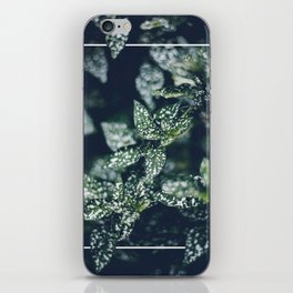 In the Garden with Rectangle iPhone Skin