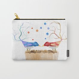 Two Birds in Love Carry-All Pouch