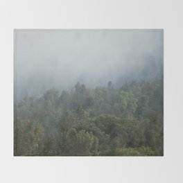 Guatemalan Forest Throw Blanket